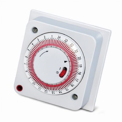 Immersion Heater Timer with Manual Override